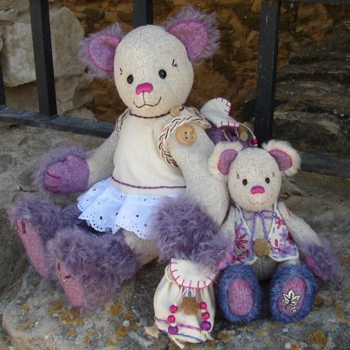 Aubergine and Flora