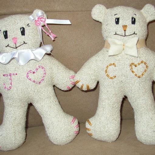 Small Bride & Groom Wedding Set