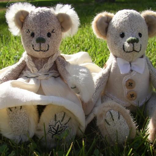 Bride & Groom Wedding Bears