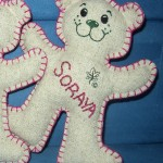 Personalised Girl Ecobear