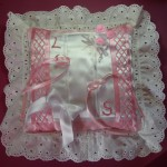 Ring Bearing Wedding Cushion