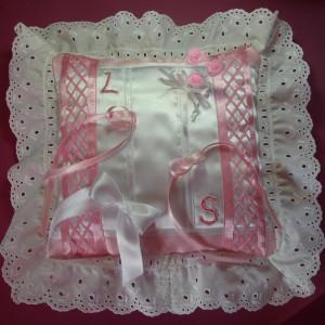 Ring Bearing Wedding Cushion